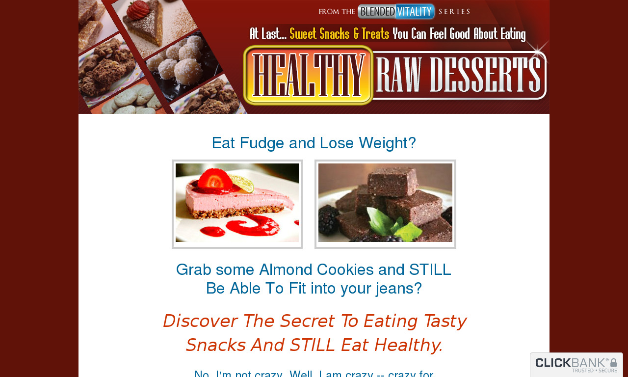 50 Raw Desserts Downsell