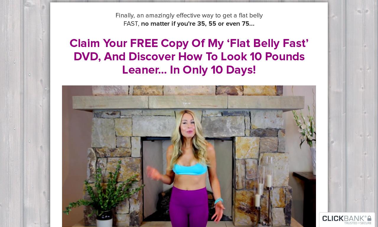 Flat Abs Fast DVD & Bonus 10 Day Meal Plan