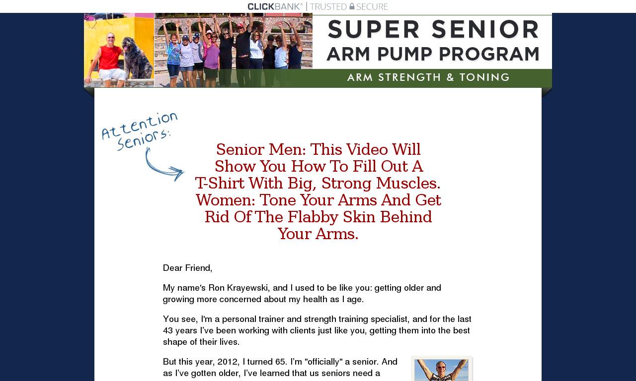 Super Senior Arm Pump