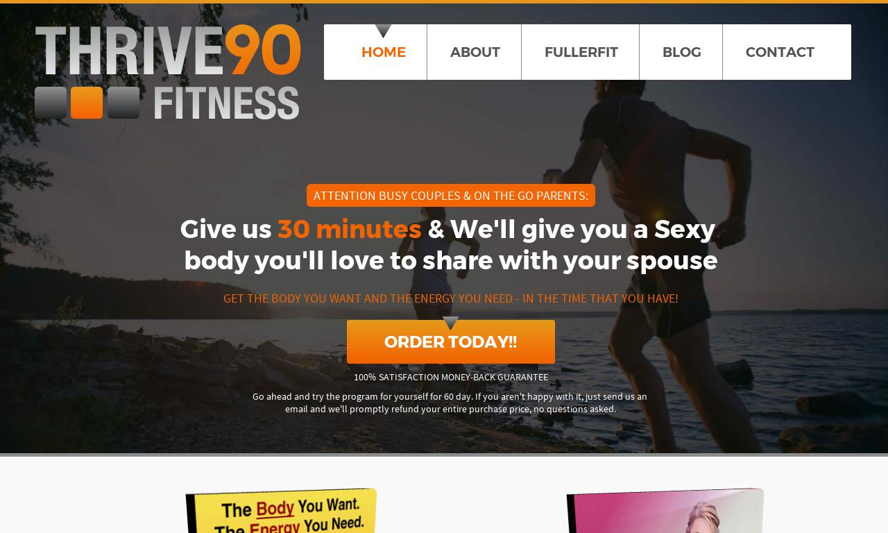 Thrive90 Fitness (Digital)